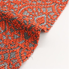 100% poliéster tejido de lana Dobby para la ropa de las mujeres