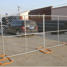 Powder Coated Chain Link Temporary Fencing