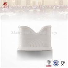 High quality white Porcelain table wet tissues holder box
