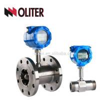 Flüssigkeitsturbinen-Durchflussmesserwasser des rostfreien Stahls flüssiges