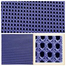Дышащий полиэстер сетки ткань для спортивной обуви Чехол для сиденья