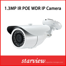 1.3MP WDR Poe IP IR Outdoor Bullet CCTV Security Camera