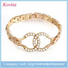 Круглый камень дизайн браслет любовь браслет 1 грамм золотые украшения заработать деньги онлайн наручники