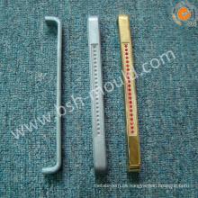 Cubiertas de la manija de puerta del cromo del bastidor del metal del OEM a presión
