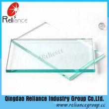 3mm-19mm Klar Float Glas Verwendung im Gebäude, Temperierung, Dekoration