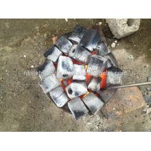 El carbón de la briquetas del aserradero del precio más barato / venta directa de la fábrica venta al por mayor hexagonal del carbón de leña de la barbacoa del aserrín del carbón de leña