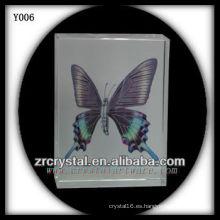 Colorful Print Photo Crystal Y006