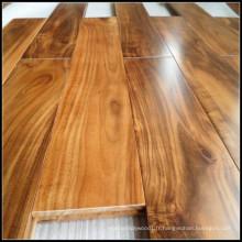 Plancher de bois franc solide d'acacia d'or / plancher en bois
