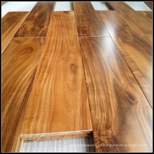 Revestimento de madeira maciça da acácia dourada / assoalho de madeira