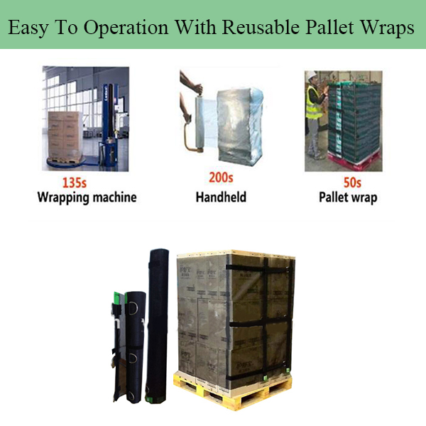 reusable pallet wraps