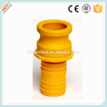 Camlock Nylon coupling type E , cam lock fittings, quick coupling China manufacture