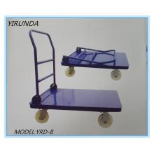 Klappbarer Flatform-Handwagen zum Transportieren