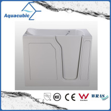 Acrylic Walk-in Wheelchair Safe Bathtub for Disabled (AB-2848LW)