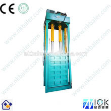 With safety button used clothes baler packing machine