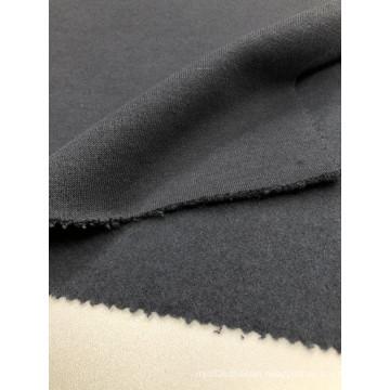Purplish Blue T/C Terry Brushed Knitted Fabrics