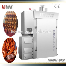 Fully automatic smoke house for sausage processing