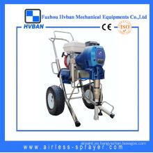 Potente motor de gasolina Equipo de pintura de gran caudal