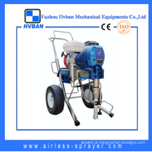 Poderoso equipamento de pintura de grande fluxo de motor a gasolina