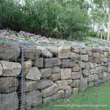 Caixa soldada de Gaibon da rede de arame para a gaiola de pedra