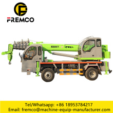 Truck Crane With Home-Made Chassis