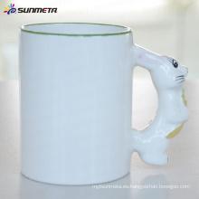 Sublimación Animal taza en blanco conejo