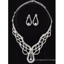 2017 Art- und Weiseausdruck-Halsketten-Ohr-Ring