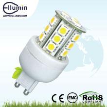 g9 a mené l'ampoule 360 degrés a mené la lumière de maïs