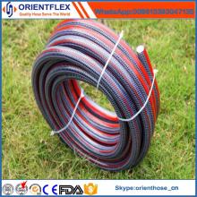 Tuyau flexible d'eau de jardin coloré de PVC Kintted