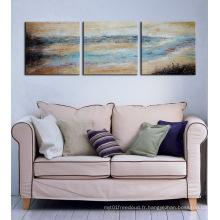 Peinture abstraite de groupe d'art de toile pour la décoration de mur