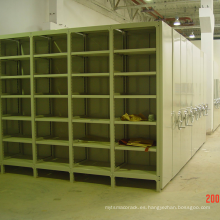 Light Duty Mobile Storage Rack / estante móvil de carril de guía