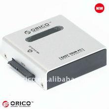 """USB 3.0, 2.5 """"et 3.5"""" SATA HDD Duplicateur portable avec interface haute vitesse et fonction d'échange rapide"""