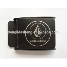 China Custom various metal belt buckle printed logo belt buckle