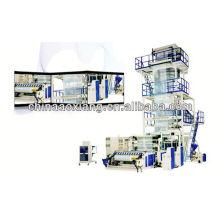 máquina de sopro do filme do cling do pvc Mini máquina de sopro do filme do PE do tipo máquina de film automática do sopro