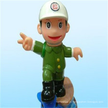 Figura chinesa fábrica melhor preço polícia homem figura militar polícia brinquedo para promoção