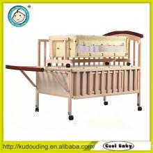 Heißer Verkauf europäisches Standardbaby hölzernes Einzelbett entwirft