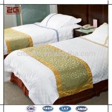 Nouveau design King Size Jacquard Hotel Décoré Bed Runner