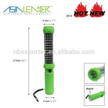48 + 1 LED magnética linterna impermeable