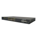16 Ports Power Over Ethernet POE Switch غير مدارة