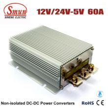12V / 24VDC zu 5VDC 60A Auto-DC-Konverter-Stromversorgung