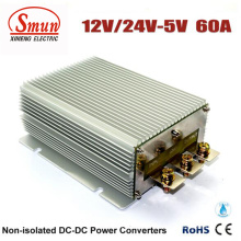 12V / 24VDC à fonte de alimentação do conversor da CC do carro de 5VDC 60A