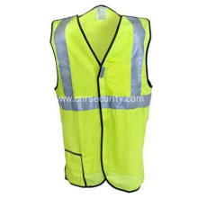 Yellow Break-Away Safety Vest