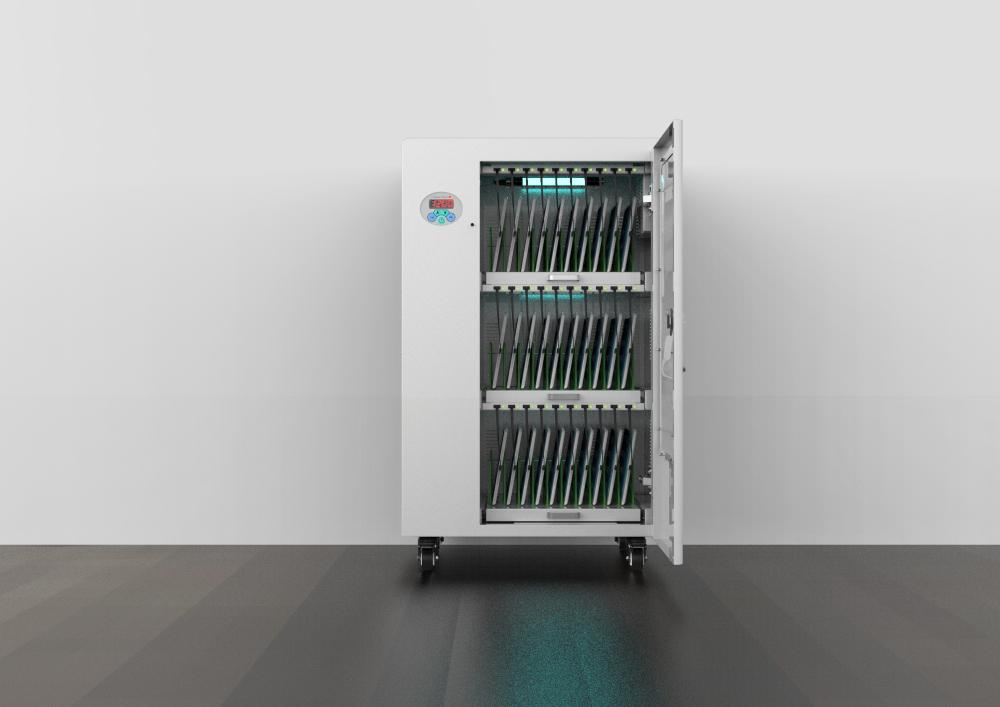 tablets storage and charging cabinet