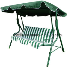 3 Seat Garden Outdoor Patio Canopy Beach Glider