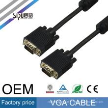 SIPU 5/10 FT Bleu 15PIN VGA / SVGA D-Sub Mâle à Mâle Câble M / M Nouveau Pour PC TV