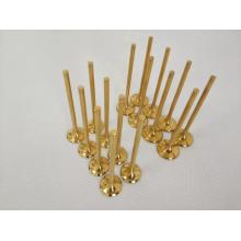 Titanium alloy engine valves