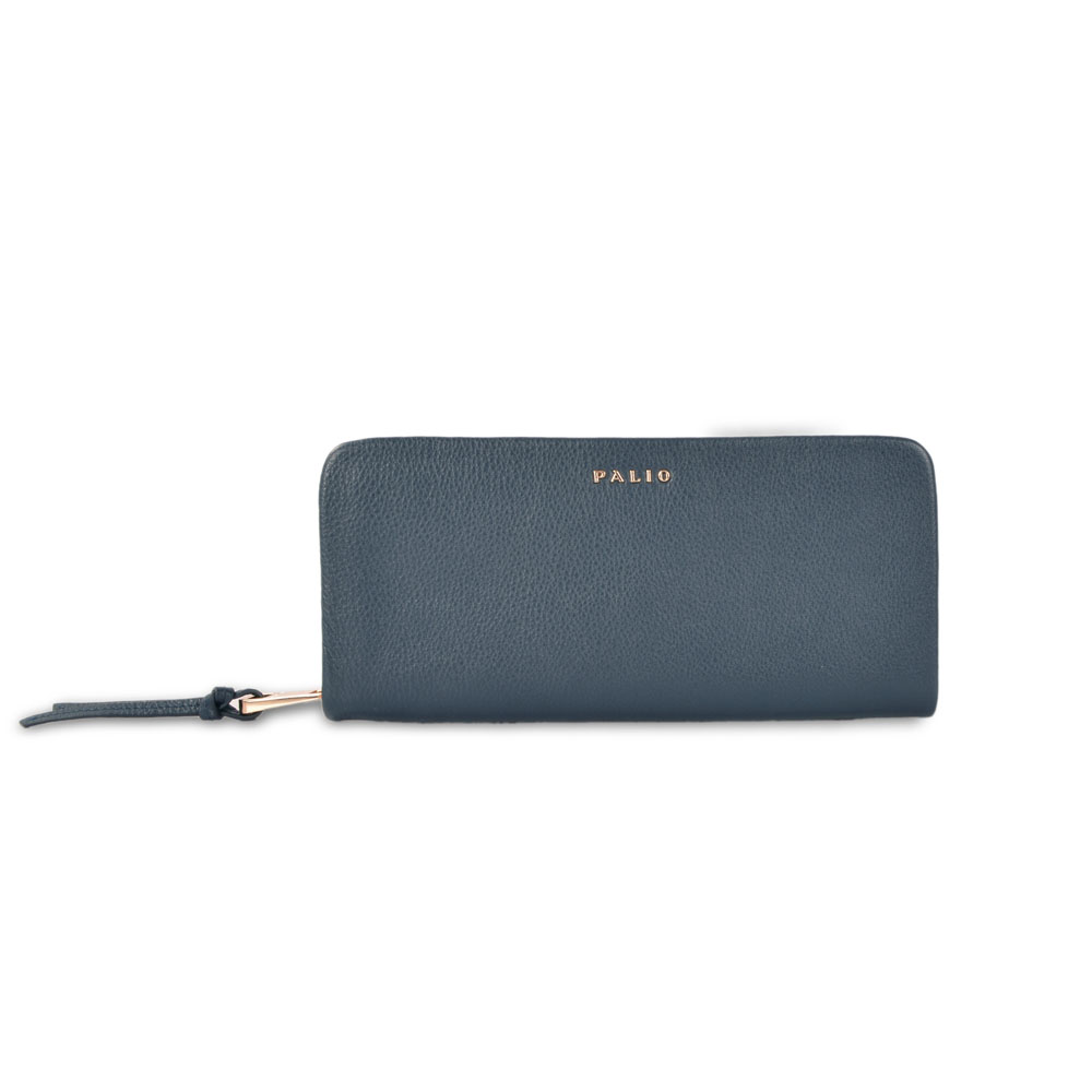 Hot selling news style pu leather women wallet ladies clutch purse