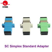 Sc Simplex Adaptador estándar de fibra óptica