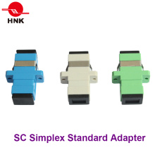 Sc Simplex Singlemode, Multimode, Om3 and APC Fiber Optic Adapter