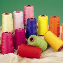 Buen hilo de coser de solidez de color