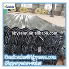 Ondulada revestida chapa de aço / chapa de cobertura - China ouro fornecedor